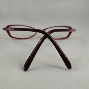 Nine West Accessories - NINE WEST Rx Eyeglass Frames Oval Purple Junior